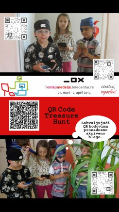 QR Code Treasure Hunt
